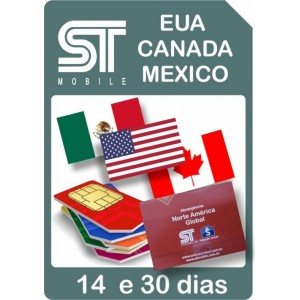 ST Mobile  EUA CANADA...